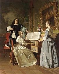 the chamber concert by johann cornelius mertz