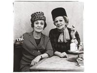two ladies at the automat, n.y.c by diane arbus
