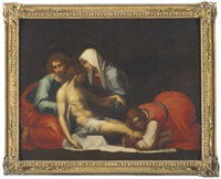 the lamentation by fra bartolommeo