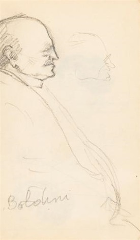 sketchbook by jean louis forain
