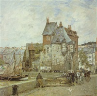 a french harbour town by adrien gabriel voisard-margerie