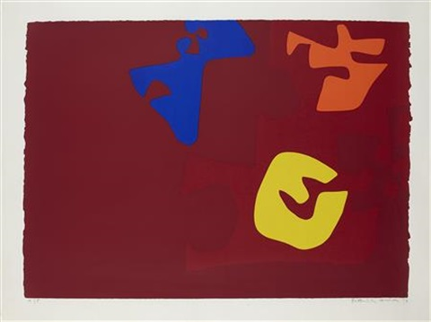 untitled from the rothko series by patrick heron