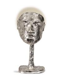 lampe masque silver by elizabeth garouste and mattia bonetti