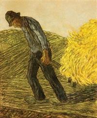 farmer in the country by cornelis albert van assendelft