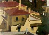 houses in kolonaki, athens by panayiotis tetsis