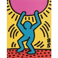 international youth year by keith haring