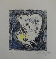 visage by marc chagall