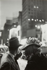 times square, new york city by louis faurer