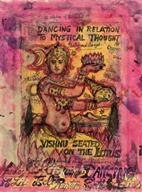 dancing in relation to mystical thought (+ 2 others; 3 works) by stephen tennant