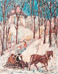 sleigh ride by gheorghe apostu