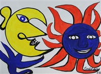 untitled (sun and moon) by alexander calder