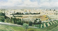 view of jerusalem by avner moriah