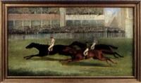 l'arrivée du derby by george henry laporte