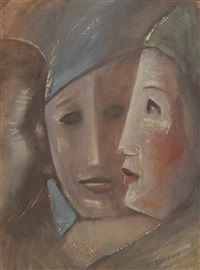 three heads by clyde singer