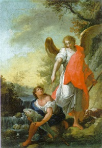 tobias and the angel by laurent pécheux