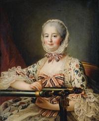 portrait de madame de pompadour by françois hubert drouais