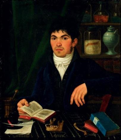 portrait dun jeune savant by jacques louis david