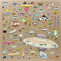 army of mushrooms by takashi murakami