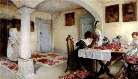 potpourri by edwin austin abbey