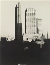 new york from the shelton by alfred stieglitz