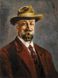 portrait d'homme by alexis paul arapov
