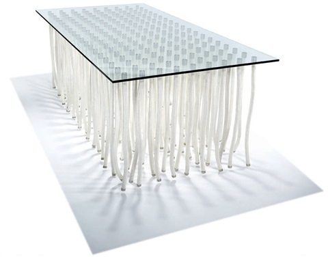 org consoledining table by fabio novembre