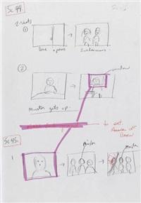 charlotte's web (original manuscript storyboards)(6 vols.) by gary winick