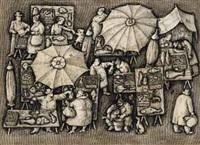 mercato romano del pesce by domenico gnoli