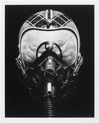 untitled (iceman x) by robert longo