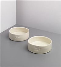 dishes (pair) by edmund de waal