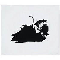 untitled (monkey grinder) by kara walker