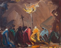 procesión con cardenal by stephen koek koek