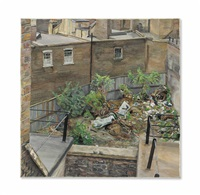 waste ground, paddington by lucian freud
