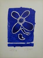 fleur bleue by georges braque