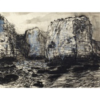 cliffs at margate by bruno joseph bobak