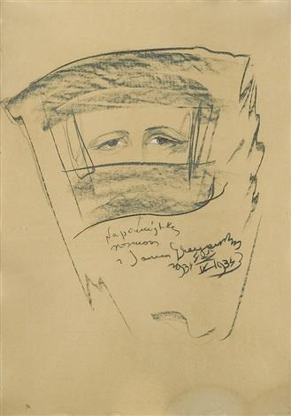 jan glogowski portrait ix by stanislaw ignacy witkiewicz
