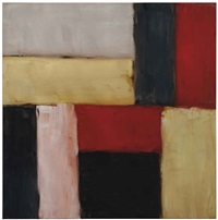 wall of light reef by sean scully