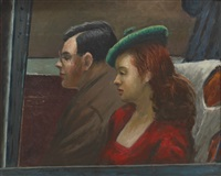 on a bus by clyde singer
