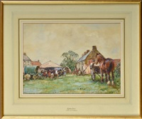 egton horse fair by john gunson atkinson