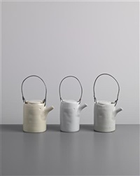 teapots (set of 3) by edmund de waal