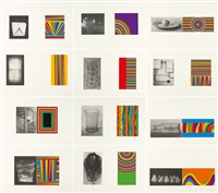 folge von 12 bll.: equivalent by sol lewitt and sachiko cho