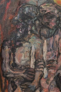 the priests by leon golub