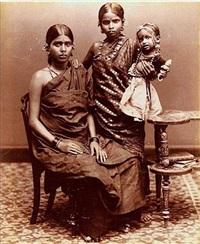 trois soeurs, inde by charles t. scowen (scowen & co.)