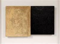 & (monochromes no. 551:2 & 221:2) (diptych) by julia morison