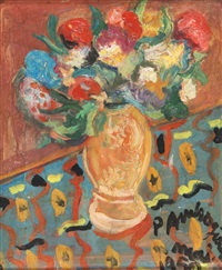 bouquet de fleurs by pierre ambrogiani