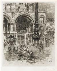 piazza di san marco by frank duveneck