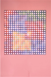 orion blanc by victor vasarely