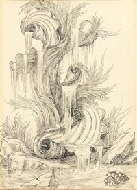 projet de fontaine by emilio terry