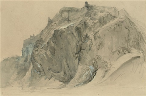 the castle rock edinburgh by john ruskin