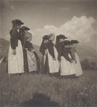 kindergruppe aus ost-tirol by rudolf koppitz